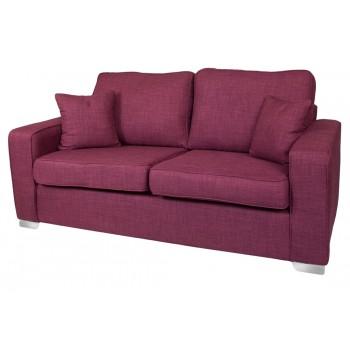 New York 3 Seater Fabric Sofa