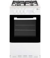 Flavel White Gas Cooker