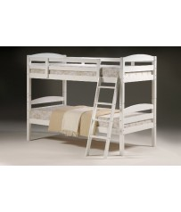 Cosmos White Wood Bunk Bed