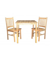 Honeymoon Table + 2 Chairs