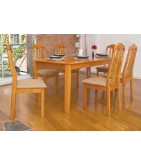 Mahogany Set + 6 Chairs