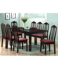 Mahogany Set + 8 Chairs