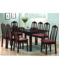 Mahogany Set + 8 Chairs