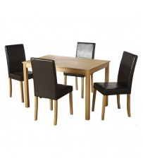 Oakmere Set + 4 Chairs