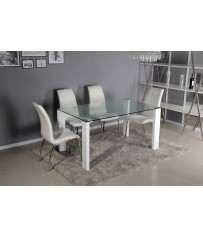 Savona Glass Table & Lugano Chairs
