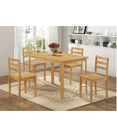 York Dining Set - 4 Chairs