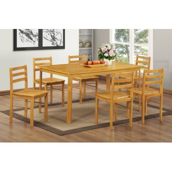 York Dining Set - 6 Chairs