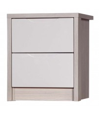 Avola 2 Drawer Bedside