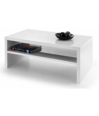 High Gloss Coffee Table - White