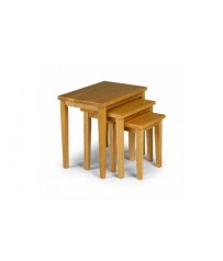 Nest of Tables - Oak Finish