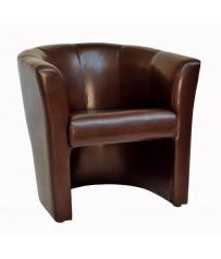 Tub Chair - Brown