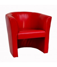 Tub Chair - Red