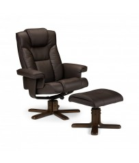 Malmo Recliner - Brown