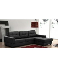 Jerry Faux Leather Corner Sofa