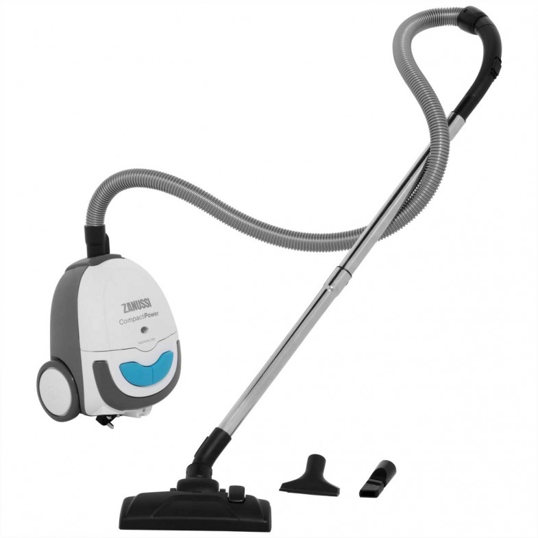 Zanussi Compact Power Zan3002el Bagged Cylinder Vacuum Cleaner